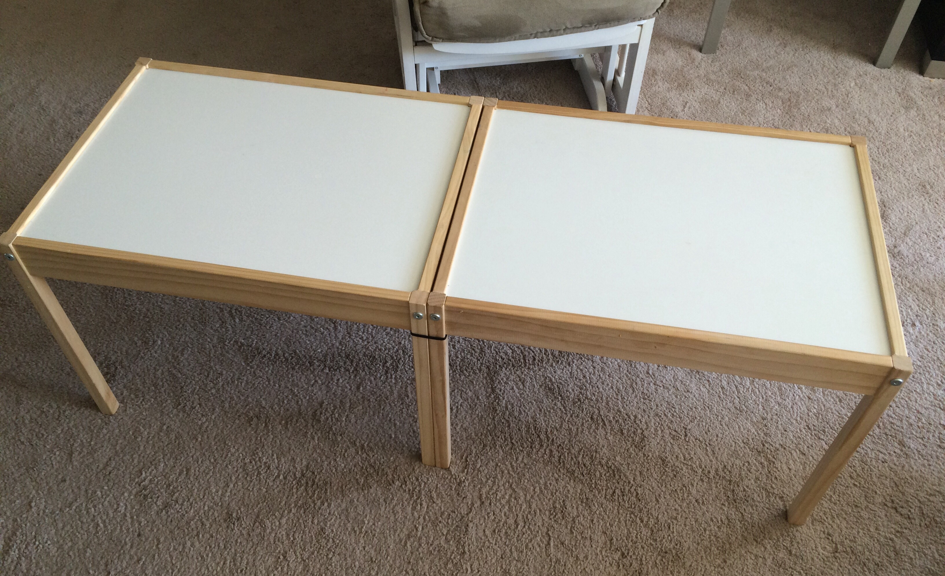 IKEA Hack Train Table – Crazy for D I Y