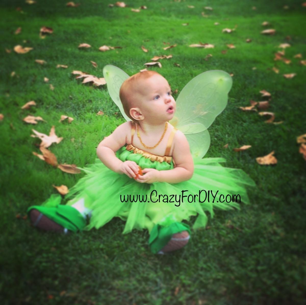DIY Tinkerbell Costume