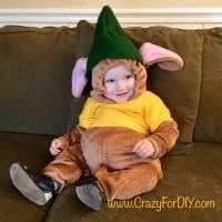 DIY Cinderella's Gus Gus Costume