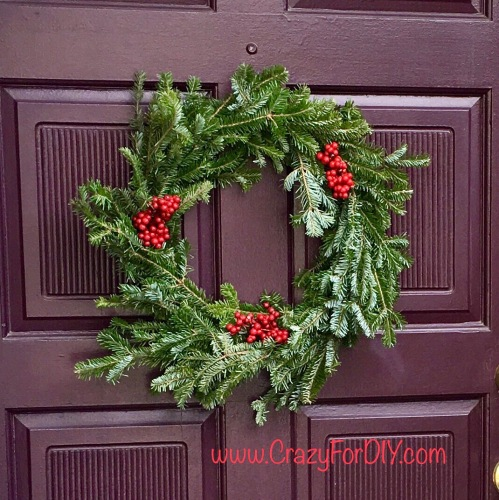 Easy DIY Wreath