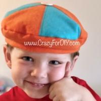 Blippi Felt Hat Beret DIY
