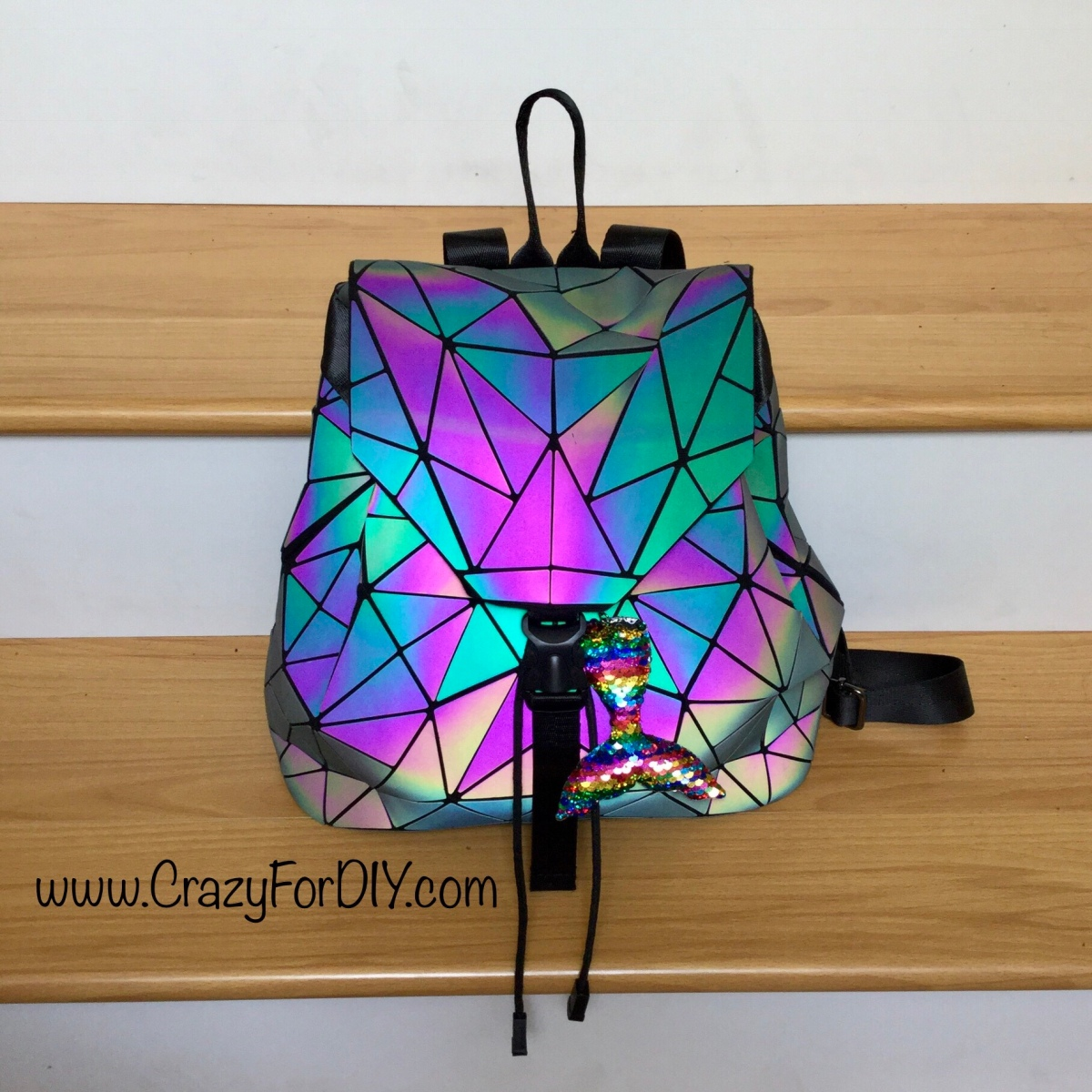 My Adult Version of a Unicorn Sequin Rainbow Backpack