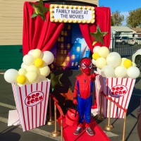 Fun Red Carpet and Popcorn at the Movies Trunk or Treat Tutorial